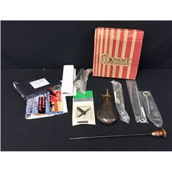 Group of Black Powder Accessories