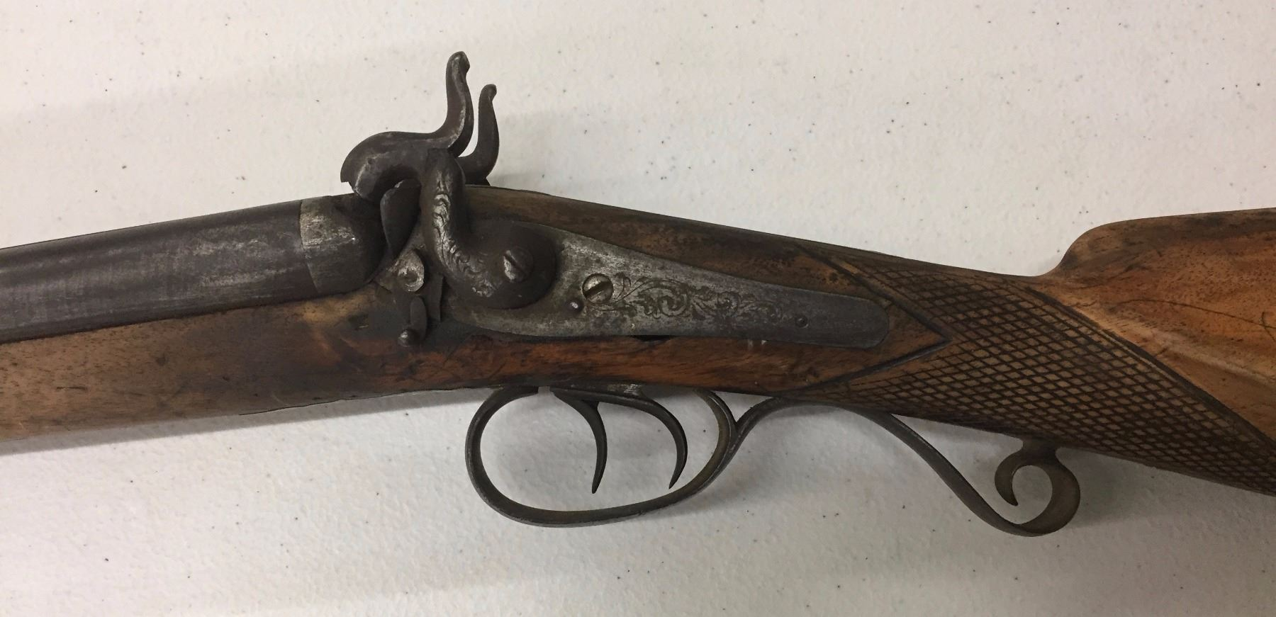 1880's Double Barrel Shotgun, Lepage A Liege