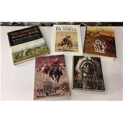 Group of 5 Western Type Books