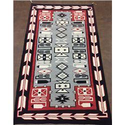 Large Teec Nos Pos Navajo Textile