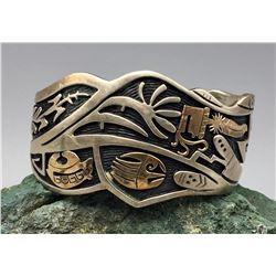 Storyteller Overlay Cuff Bracelet