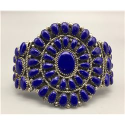 Lapis Cluster Bracelet