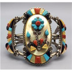 Zuni Inlay Bracelet – Simplicio