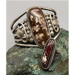 Wild Horse Bracelet and Ring