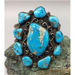 Multi Stone Turquoise Bracelet