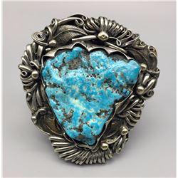 Large Chunky Turquoise Bracelet