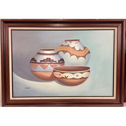 Original Oil on Canvas - Steven