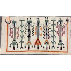 Vintage Figural Navajo Textile