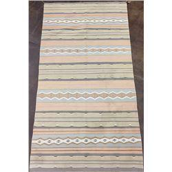 Mid Century Crystal Navajo Textile
