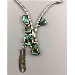 Unique Turquoise Necklace