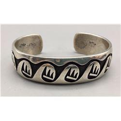 Hopi Overlay Cuff Bracelet