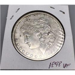 Very Nice 1898 Morgan Silver Dollar