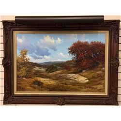 Large Original Oil Painting – WA Slaughter