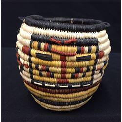 Hopi Coiled Basket - Saufkie