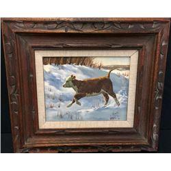 Original Oil on Canvas - Barbara Vaupel
