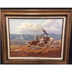 Original Oil on Canvas - Landon Lamb