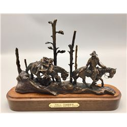 Tall Timber Bronze by Harvey Rattey