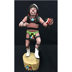 Tewa Hano Clown Kachina - Sahmie