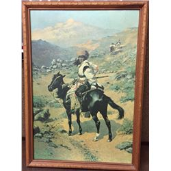 Vintage Remington Canvas Transfer Print