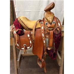 Handmade Mexican Charro Saddle