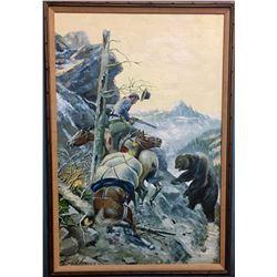 Original Oil on Canvas - David Long