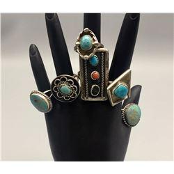 Group of 6 Vintage Rings