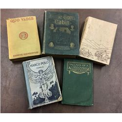 Group of 5 Antique Books