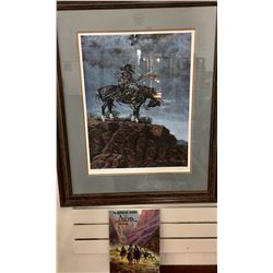 Jimmy Abeita, Signed Print and Book