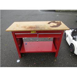 2 Drawer Work Bench