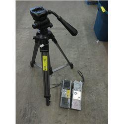 Camera Tri-Pod & Walkie Talkies