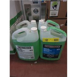 4 Bottles MotoMaster Windshield Washer Fluid