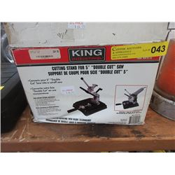 """New King 5"""" Cutting Stand"""