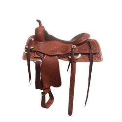 Full Combo Tooled Bob's Custom Saddle