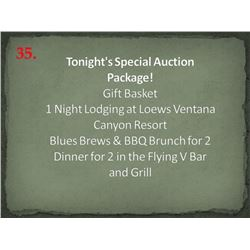 Tonight's Special Auction Package