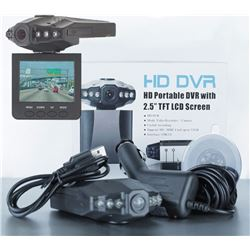 """NEW HD PORTABLE DR WITH 2.5"""" SCREEN"""