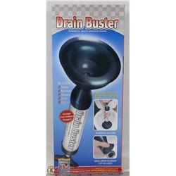 NEW DRAIN BUSTER MULTI-DRAIN PLUNGER