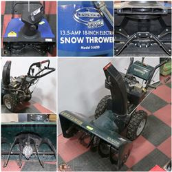 FEATURED ITEMS: SNOW BLOWERS/ THROWERS!