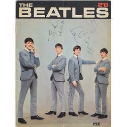Beatles Signed 1963 PYX Magazine