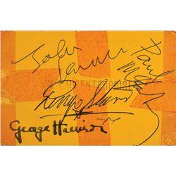 Beatles Signed 1963 Grosvenor Ballroom Ticket