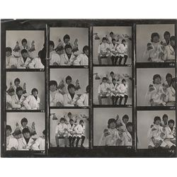 Beatles 'Butcher Cover Outtake' 1966 Contact Sheet