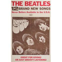 Beatles 'Rubber Soul' Poster
