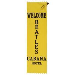 Beatles 1965 Cabana Hotel Staff Sash