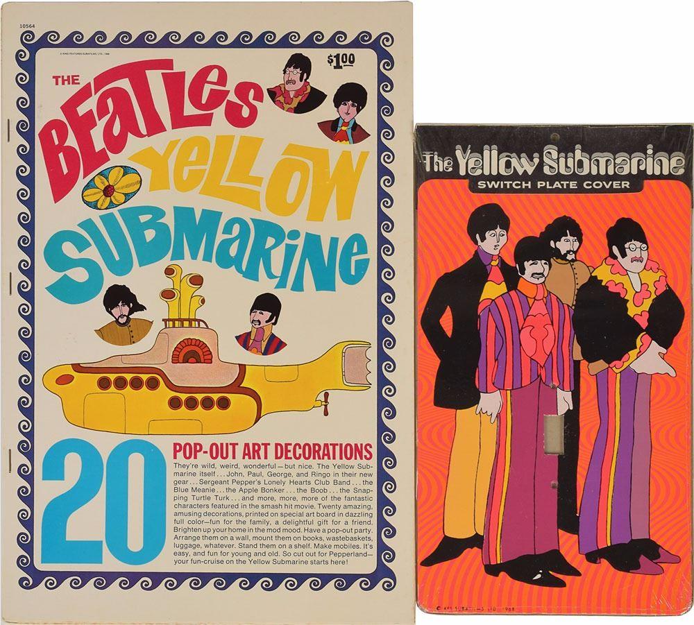Beatles Yellow Submarine Group Of Items