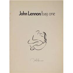 John Lennon 'Bag One' Exhibition Catalogue