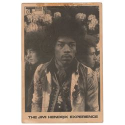 Jimi Hendrix Experience Signed Promo Card