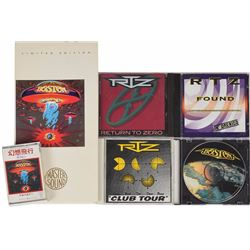 Brad Delp's Collection of RTZ and Boston Albums