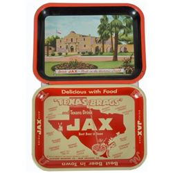 2 Jax Beer Trays