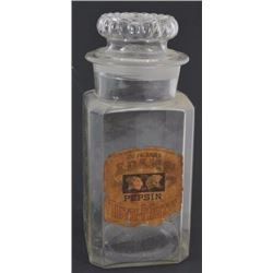 Adams Pepsin Gum Counter Top Jar
