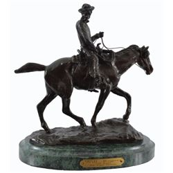 "CM Russell ""Will Rogers Memorial"" Bronze"