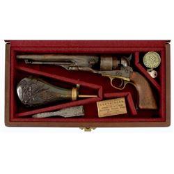 Cased Colt 1860 Army .44 Civil War Revolver